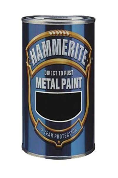 Marshall Hammerite Direkt Pas Üstü Pürüzsüz Metal Boyası Koyu Beyaz 0.75 Lt