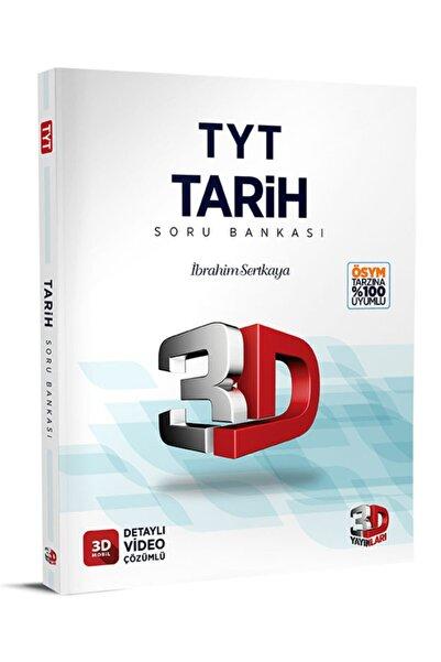 Çözüm Yayınları 2022 Tyt 3d Tarih Tamamı Video Çözümlü Soru Bankası 3d Yayınları