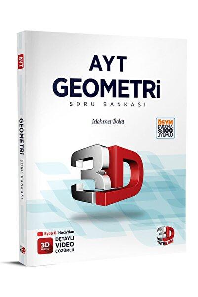 Çözüm Yayınları 3d Yayınları Ayt Geometri Soru Bankası Tamamı Video Çözümlü Mehmet Bolat