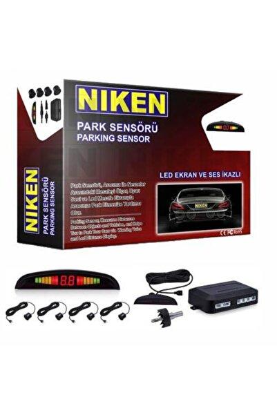 Niken Park Sensörü Ekranlı Ve Ses Ikazlı Garantili Siyah