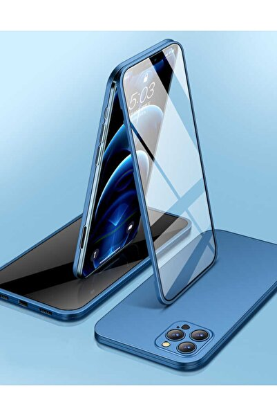 Apple Iphone 12 Pro Kılıf Ultra Ince Tasarım Darbe Emici Kamera Koruyuculu 360 Led Kapak