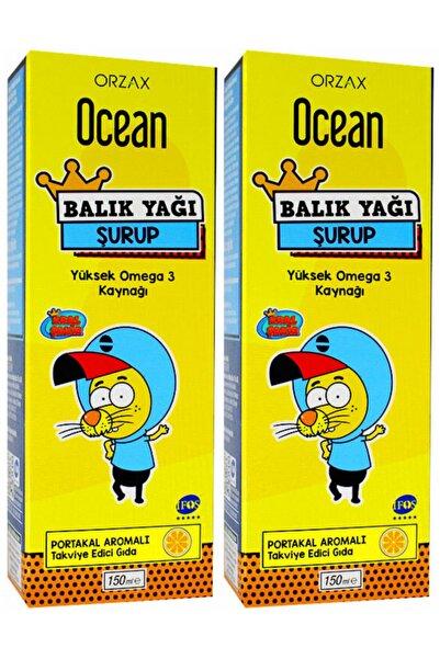 Ocean Ocean Portakallı Balık Yağı Şurup 150 ml 2 Adet