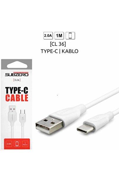 Subzero Type-c Şarj Kablosu 2.0 A