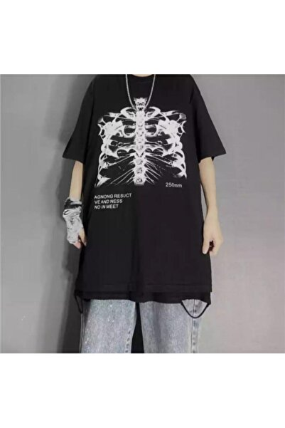 Köstebek Agnong Resuct Siyah Unisex T-shirt