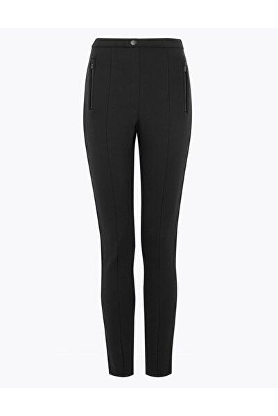 Marks & Spencer Kadın Siyah Jarse Skinny Pantolon