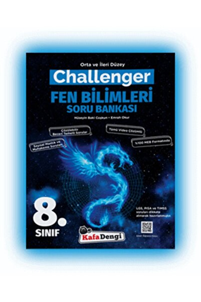 Kafa Dengi Yayınları Kafa Dengi 8.sınıf Challenger Fen Bilimleri Soru Bankası