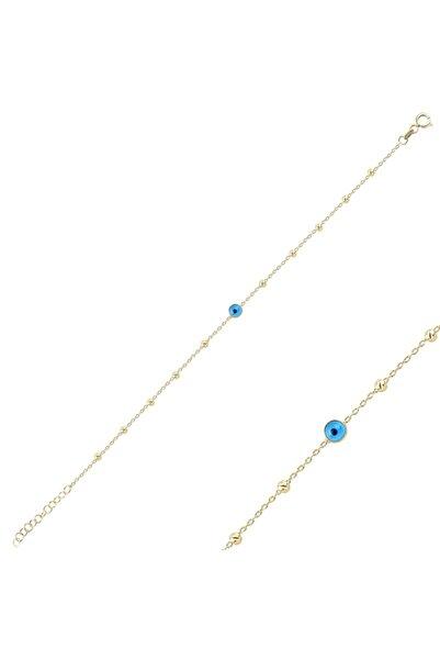 Silverella Kadın Gümüş 925 Ayar Göz & Dorica Toplu Bileklik