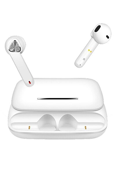Escom Xiaomi Poco X3 Nfc Uyumlu Bluetooh Kulaklık Beyaz Tws Hd Ses Kalitesi