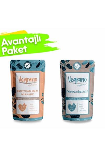 Vegrano Tapyoka Nişastası 100 gr + Nutritional Yeast (besin Mayası) 100 gr