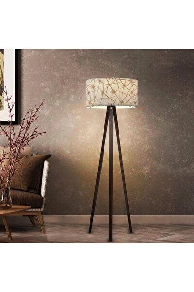 HOMİNG Gold Yıldız Desenli Dekoratif Lambader Ayd-2967