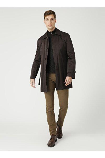 Fabrika Erkek Kahverengi Comfort Palto