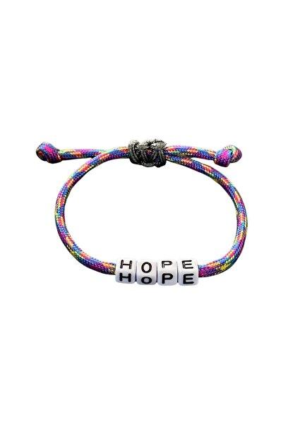 JOMO X nils project Hope Ayarlanabilir İpli Bileklik