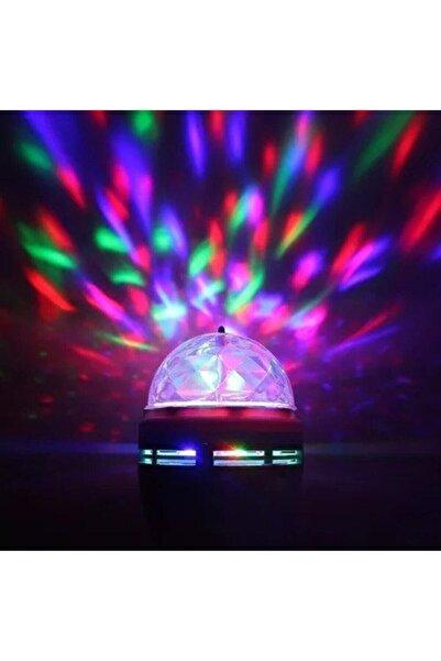Kenstar Renkli Led Döner Başlıklı Disko Topu Ampul Gece Lambası Renkli Cishop