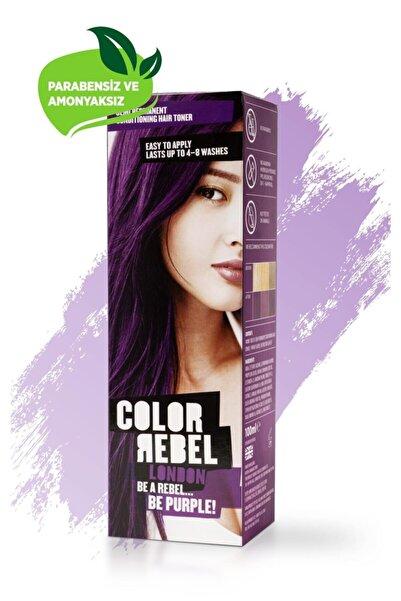 Color Rebel London Parabensiz & Amonyaksız Mor Geçici Saç Boyası 100 Ml