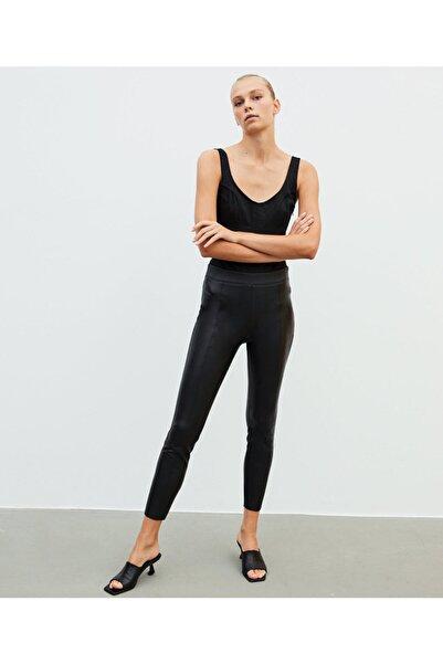 İpekyol Deri Form Pantolon