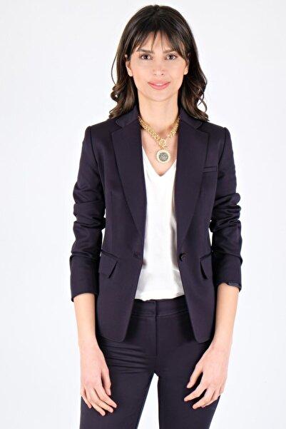 Spazio Kadın Lacivert Jaylynn Kulplu Ceket 10091320