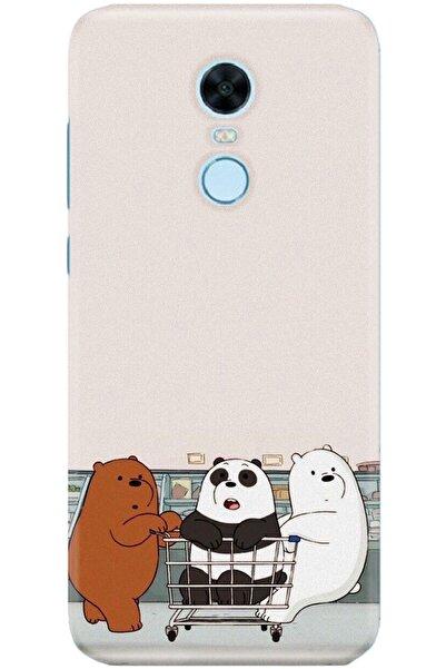 Xiaomi Redmi 5 Plus Kılıf Silikon Baskılı Desenli Arka Kapak