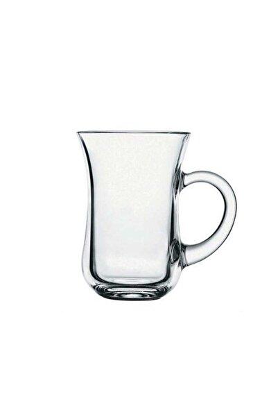 Paşabahçe Çay Bardağı 6lı Keyif Kulplu