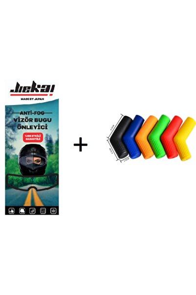 JİEKAİ Kask Buğu Önleyici Pinlock Film + Vites Çorabı