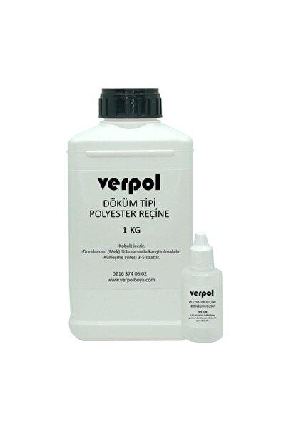 Verpol Döküm Tipi Polyester Reçine - 1 Kg