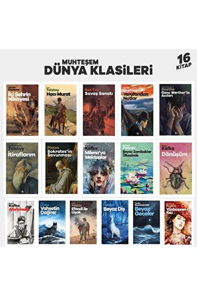 Halk Kitabevi Muhteşem Dünya Klasikleri Seti - 16 Kitap
