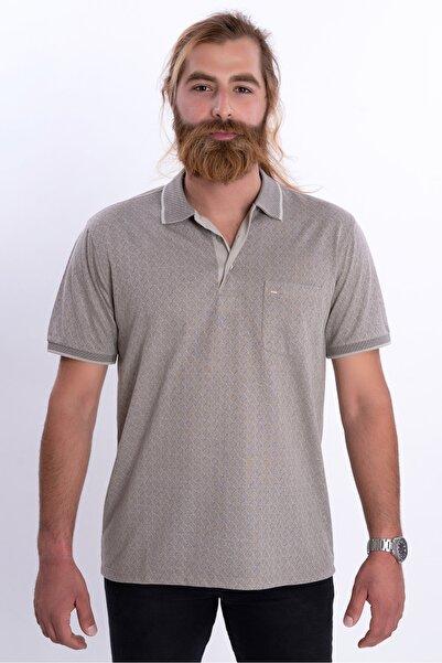 COMİENZO 205klsk Regular Fit Gri  Polo Yaka T-shirt
