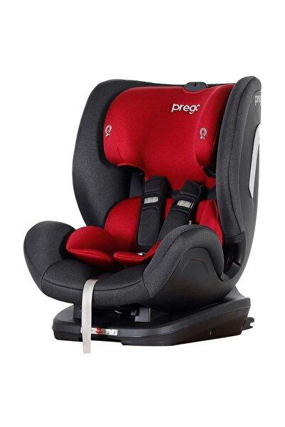 Prego Gri Kırmızı Evofix Isofix 9-36 kg Bebek Oto Koltuğu 4079