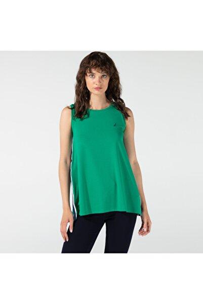 Nautica Nautıca Kadın Yeşil Kolsuz T-shırt