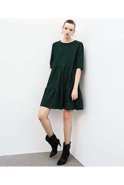 İpekyol Volanlı Elbise