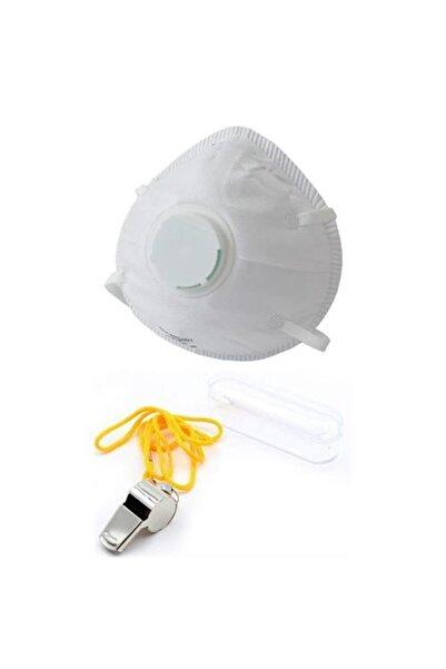 MasterCare Tm 4 Adet Ventilli Maske Dprem Düdüğü Hediyeli Set 713927