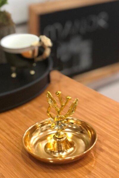 Manor Dekoratif Tutmaçlı Gold Sunum Ikramlık