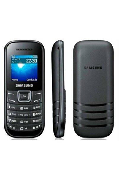 Elektrosam Samsung Siyah Keystone 2 Çift Hatlı Dual Sim Tuşlu Cep Telefonu Garantili E 1205
