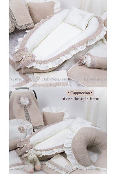 Babynest Full Özel Set Fırfırlı Pike Ve Dantelli