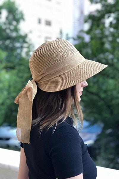 novon Hasır Fiyonklu Laura Şapka