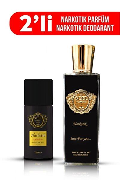soel Narkotik Parfüm 50 ml Edp+ Narkotik Deodorant Seti
