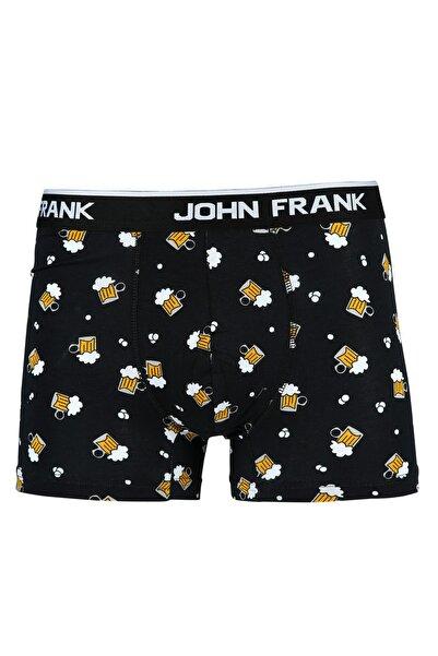 John Frank Erkek Cheers Desenli Boxer