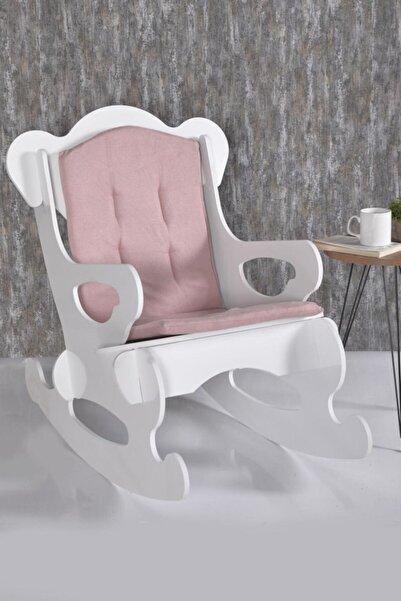N Süper Oslo Ahşap Sallanır Çoçuk Sandalyesi