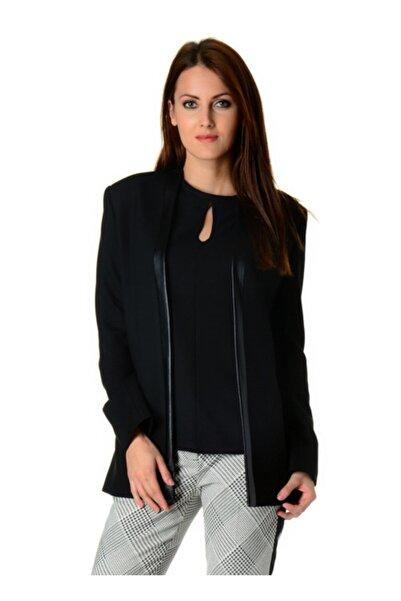 Cotton Bar Kadın Siyah Ceket