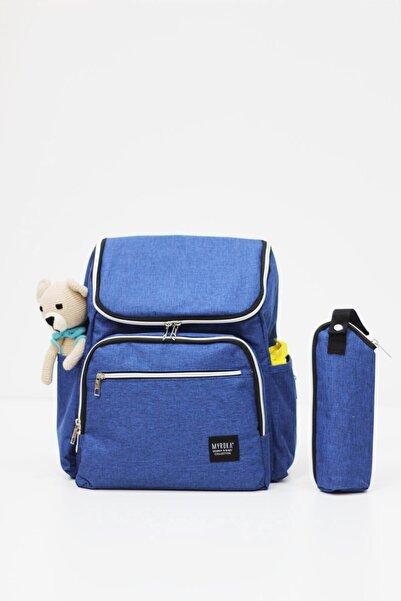 MYROKA Sweetly Mavi Bebek Bakım Çantası