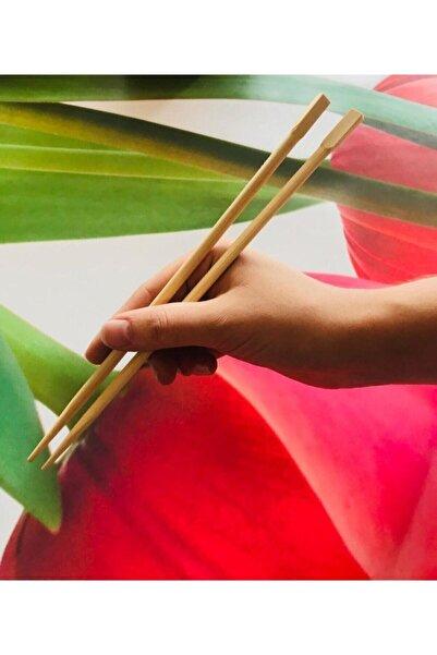 Panda Bamboo Chopsticks 2'li Yıkanabilir Çin Yemek Çubuğu