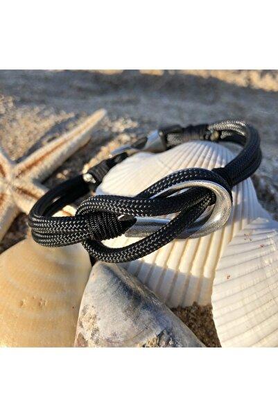 Duruj Cringle - Siyah, Şık Tasarıma Sahip, Yüksek Kaliteli Ve Dayanıklı Paracord Bileklik