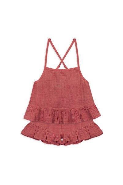 Panço Kız Çocuk Şortlu Takım 2111gk17009