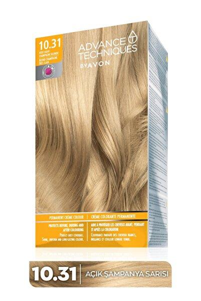 AVON Advance Techniques Kalıcı Krem Saç Boyası - 10.31 Açık Şampanya Sarısı