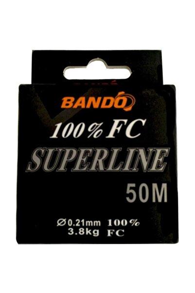 Bando Superline 100 % Fc Misina 50 Metre
