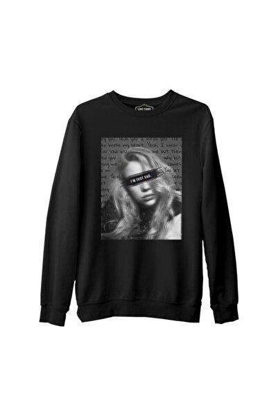 Lord T-Shirt Billie Eilish - I'm Just Sad Siyah Erkek Kalın Sweatshirt