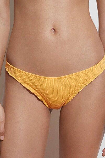 Oysho Büzgülü Seamless Klasik Bikini Altı