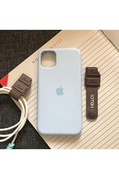 Mislina Iphone 11 Model, Logolu Lansman Kılıf Ve Kablo Toparlayıcı
