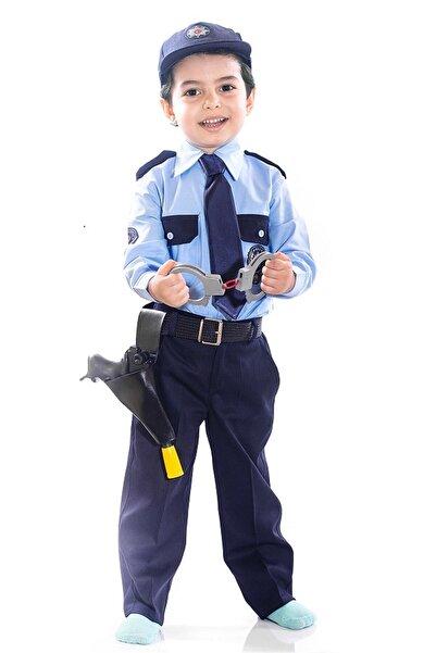 OULABİMİR Türk Polis Kostümü Çocuk Kıyafeti
