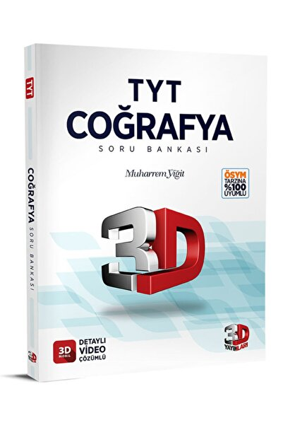3D Yayınları 2021-2022çözüm 3d Tyt Coğrafya Soru Bankası Yeni