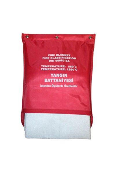 ÖZGE YANGIN Yangın Söndürme Battaniyesi 100x100 Cm